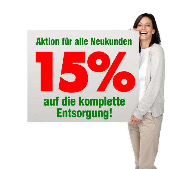 Entsorgung, Entrümpelung, Haushaltsauflösung, Renovierung Augsburg