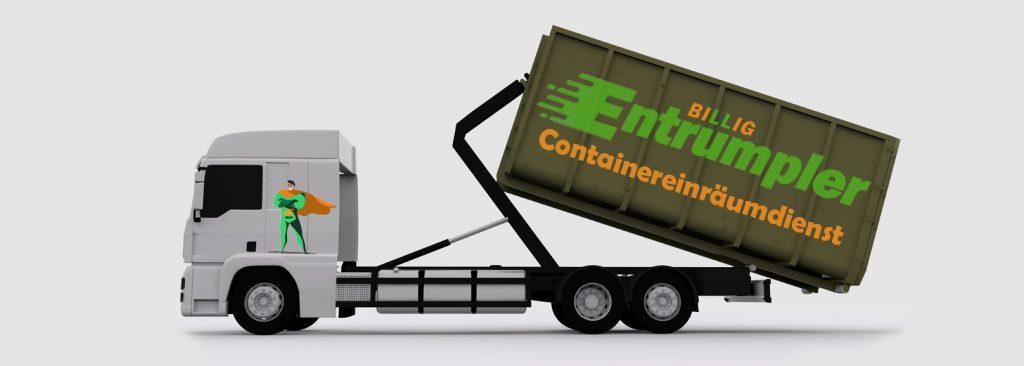 Containergestellung München - Billig Entrümpler